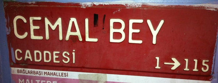 Cemalbey Caddesi is one of ts.