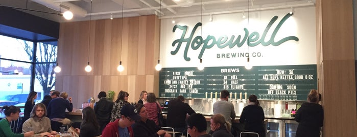 Hopewell Brewing Company is one of Brewery Bucket List.