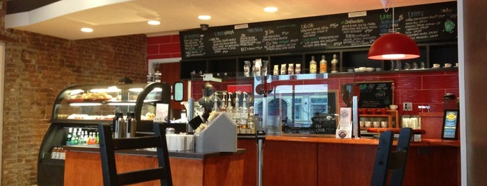 Fortissimo Coffeehouse is one of 40 Days Left in Boston.