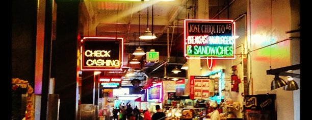 Grand Central Market is one of LA 2017.