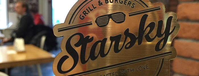 Starsky Grill & Burgers is one of SPB bar.