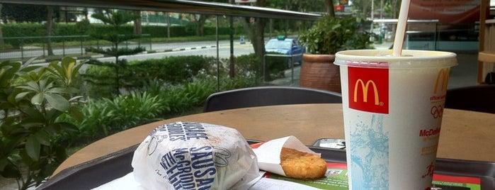 McDonald's / McCafé is one of Night Shift (Singapore).