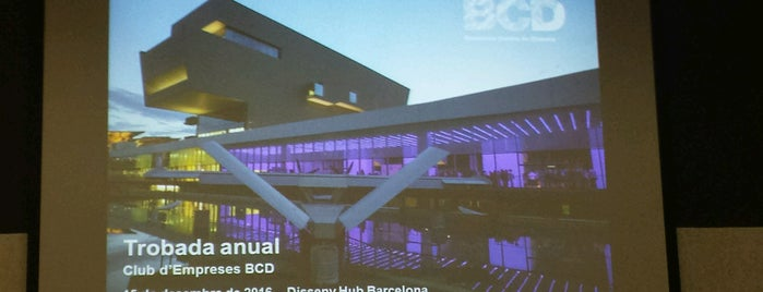 BCD Barcelona Centre de Disseny is one of Culture in Barcelona.