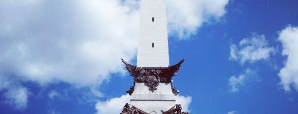 Soldiers & Sailors Monument is one of Locations Discovered.