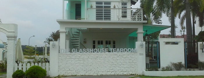 The Glasshouse Tearoom is one of Johor/JB :Cafe connoisseurs Must Visit.