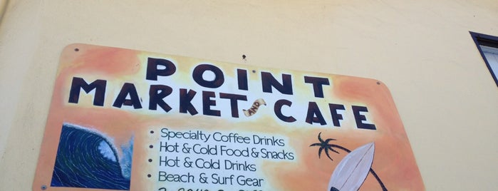 Point Market & Cafe is one of Santa Cruz area.