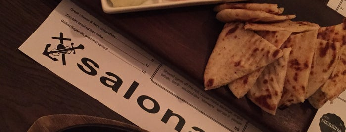 Salona Greek Restaurant is one of Been there.