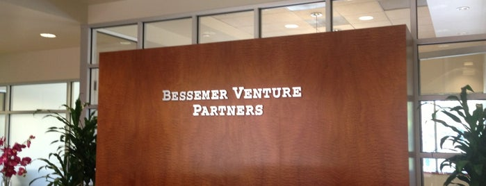 Bessemer Venture Partners is one of VC's in Silicon Valley.