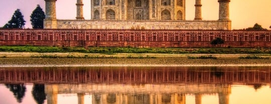 Taj Mahal is one of My Amazing Race.