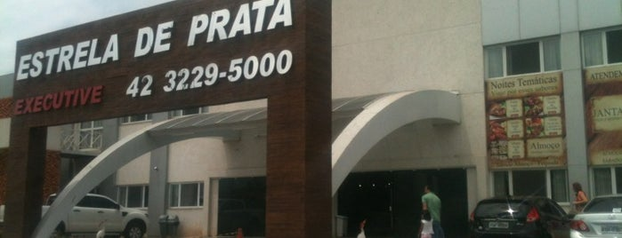 Churrascaria Estrela de Prata Executive is one of Restaurantes em Ponta Grossa.