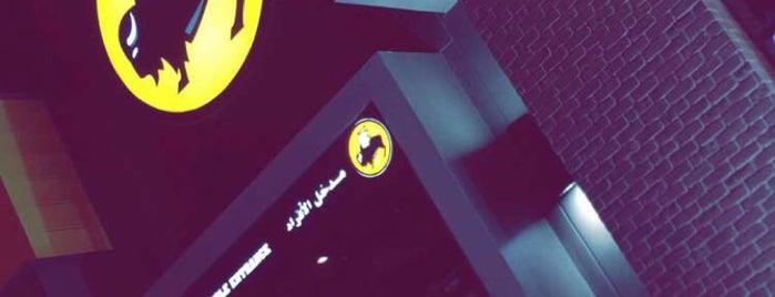 Buffalo Wild Wings is one of Riyadh.