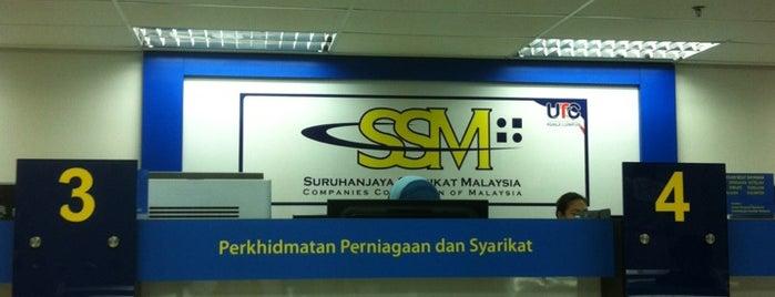 Suruhanjaya Syarikat Malaysia (SSM) is one of Ong's List.