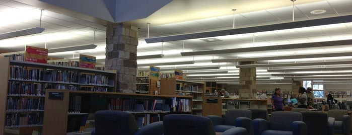 Crete Public Library is one of To Try.....