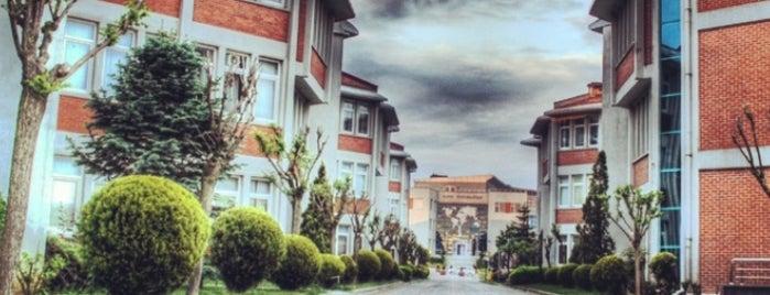 Fatih Üniversitesi is one of İstanbuldaki Üniversiteler ve Kampüsler.