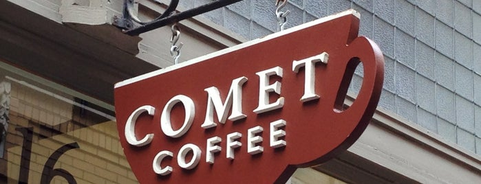 Comet Coffee is one of My Unequivocal Favorites.