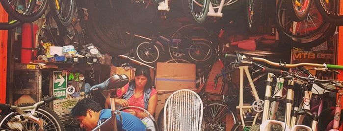 Bicicletas Emancipación is one of bicletas: reparación y venta en Lima.