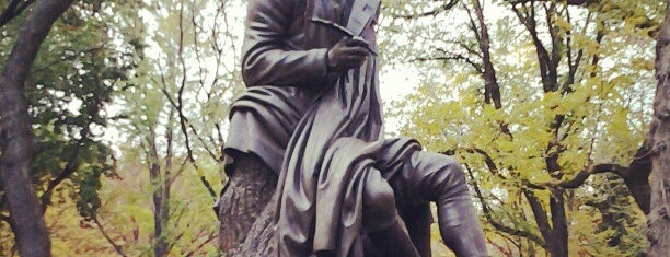 Robert Burns Statue is one of NYC Monuments & Parks.