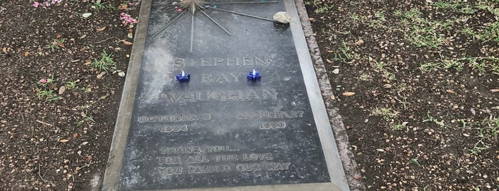 Stevie Ray Vaughan's Grave is one of Not-so-Usual Things to Do.