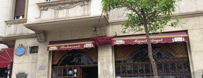 Restaurante Miguel Ángel is one of Restaurantes y bares favoritos.