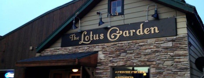 The Lotus Garden is one of Sit down joints.