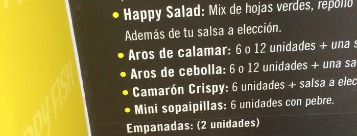 Happy Fish is one of Gastronomía en Santiago de Chile.