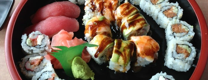 Kimono Japanese Restaurant is one of The 15 Best Places with Good Service in Winston-Salem.