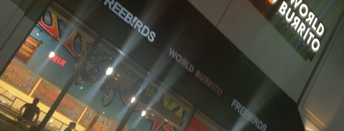 Freebirds World Burrito is one of Favorite Spots.