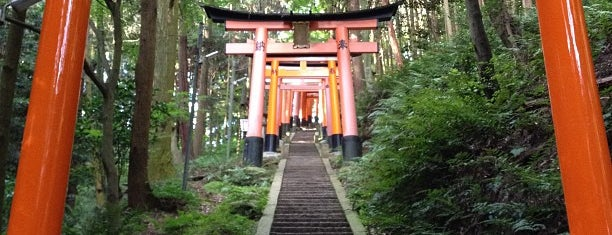 Mt. Inari is one of Kyoto.