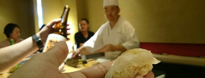 Sushi Kimura is one of Tokyo Fine Dining.