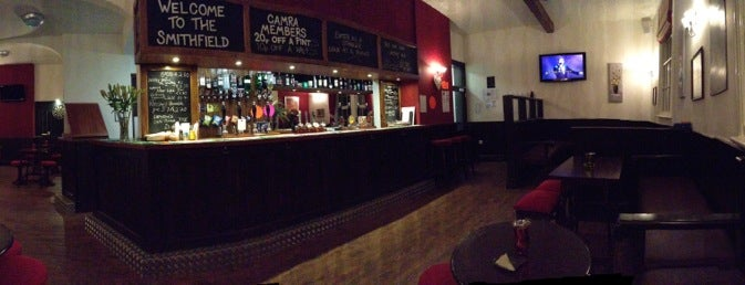The Smithfield is one of Real Ale Pubs in Derbyshire.