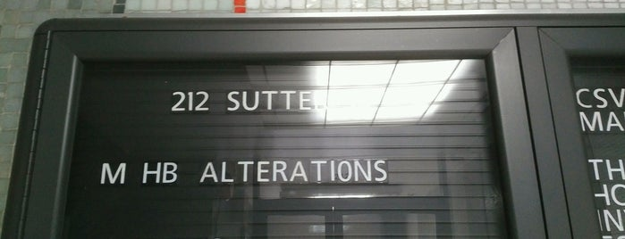 HB Alterations is one of Best of SF.