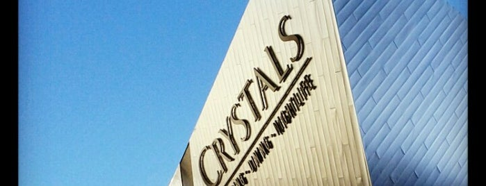 The Shops at Crystals is one of las vegas.