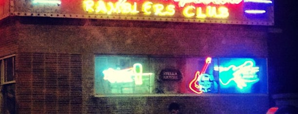 Davey's Uptown Ramblers Club is one of been there done that.