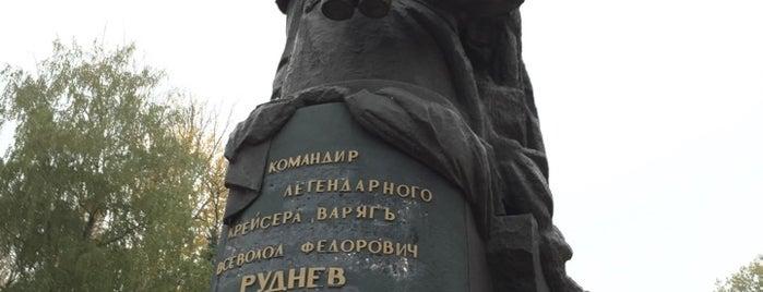 Памятник В.Ф. Рудневу is one of Что посмотреть в Туле.