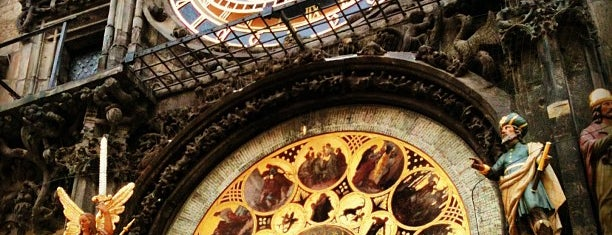 Prague Astronomical Clock is one of Prag.