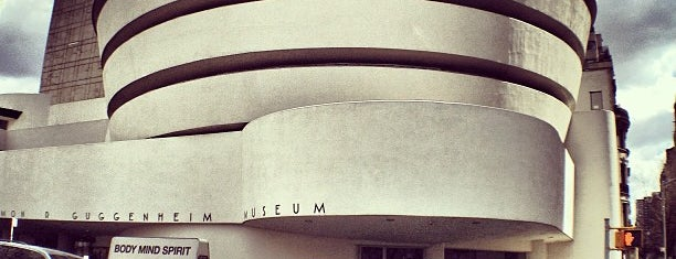 Solomon R Guggenheim Museum is one of NYC, here we go.