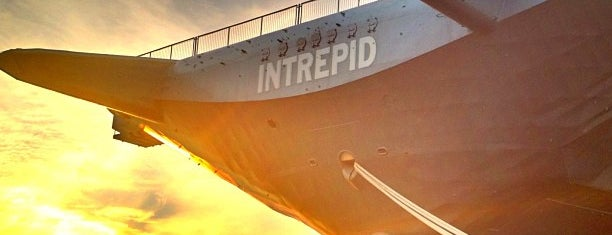 Intrepid Sea, Air & Space Museum is one of New Experiences.