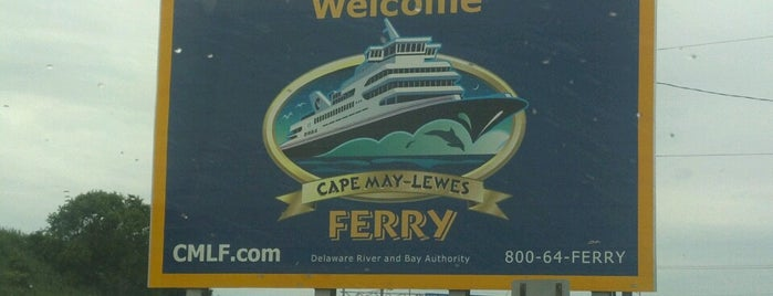 Cape May-Lewes Ferry   Cape May Terminal is one of Been there / &0r Go there.