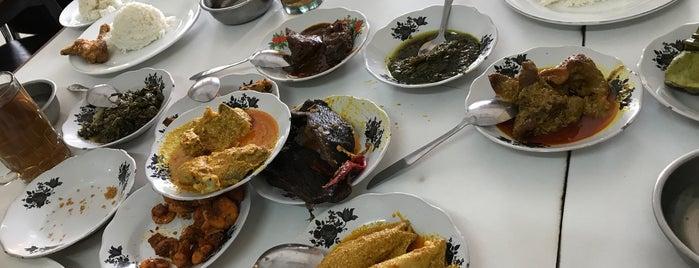 Rumah makan padang SINAR MINANG is one of jihan.