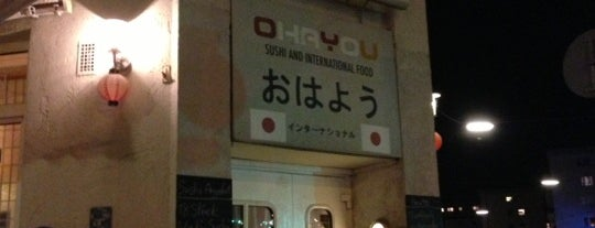 Ohayou is one of Bars + Restaurants.