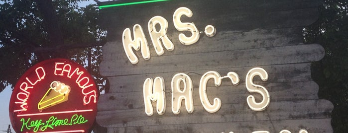 Mrs. Mac's Kitchen is one of USA Key West.