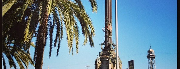 Monument a Colom is one of BCN 2012.