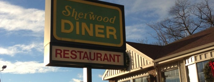 Sherwood Diner is one of My Places of Interest.