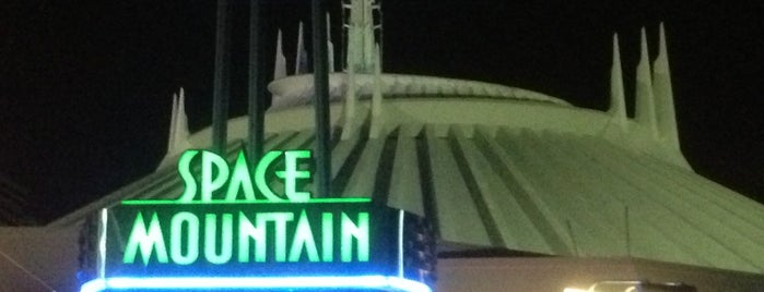 Space Mountain is one of Coaster Credits.