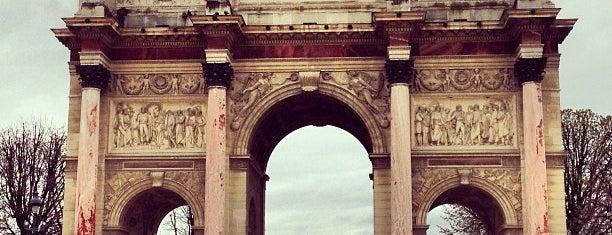 Arc de Triomphe du Carrousel is one of France.