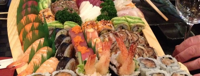 Inari Sushi Bar is one of My favorite places in Leuven, Belgium  #4sqCities.