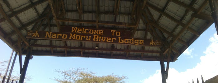 Naro Moru River Lodge is one of Best hangout places.