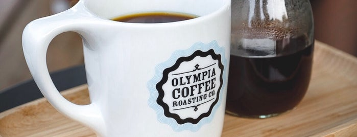 Olympia Coffee is one of Seattle FTW.
