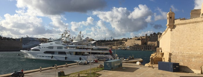 Fort St Angelo is one of Malta Cultural Spots.