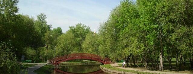 Парк усадьбы Свиблово is one of прогулки.